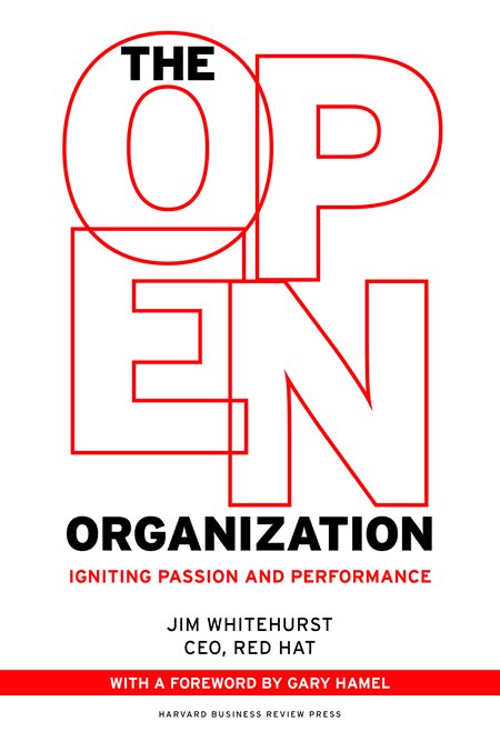 Book Cover of The Open Organization